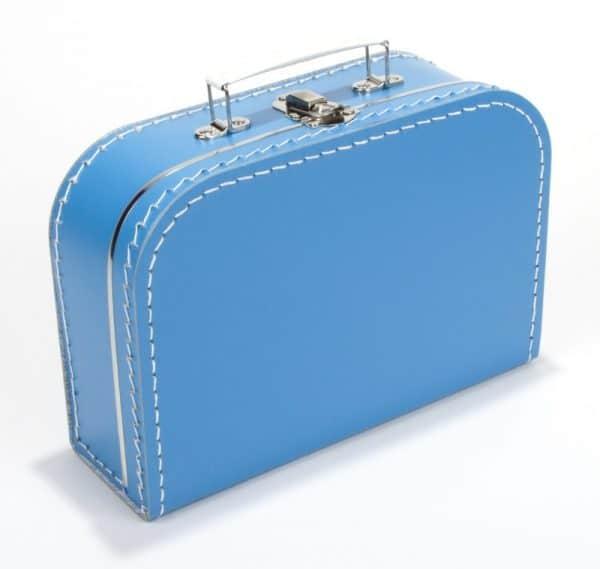 Gepersonaliseerd aquablauw koffertje