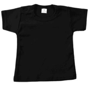 Gepersonaliseerde t-shirt zwart
