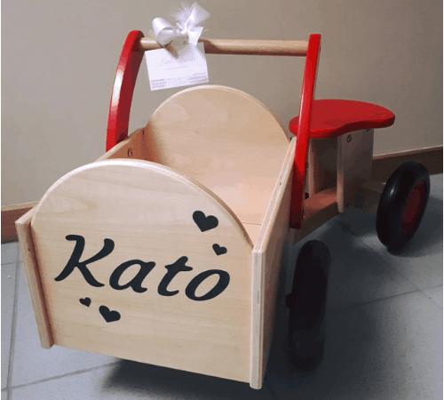Gepersonaliseerd speelgoed
