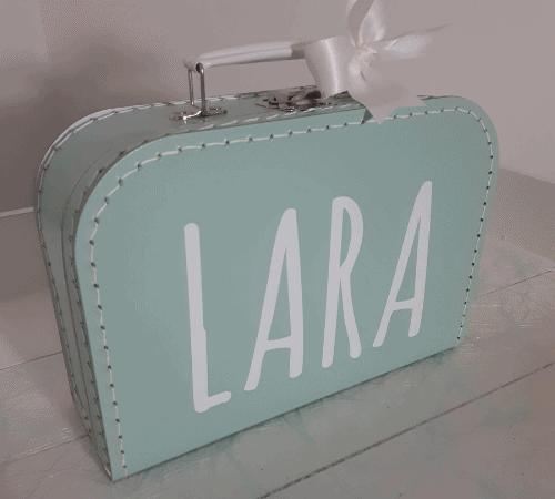 Gepersonaliseerde koffertjes met naam