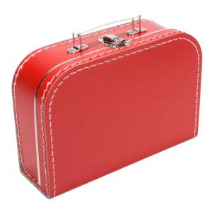 Gepersonaliseerd rood koffertje
