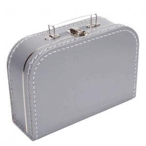 Gepersonaliseerd zilver koffertje