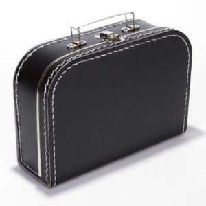 Gepersonaliseerd zwart koffertje