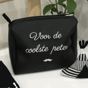 Gepersonaliseerde Toilettas lederlook
