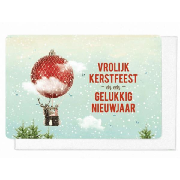 Vrolijk kerstfeest - nieuwjaar pakket