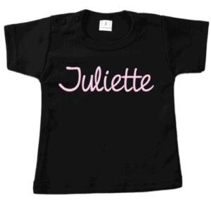 Gepersonaliseerde naam T-shirt